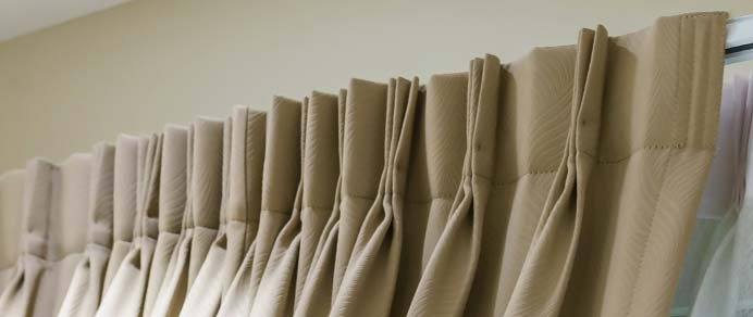 Double Pinch Pleat Curtains